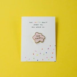 Party Sally The Party Enamel Pin
