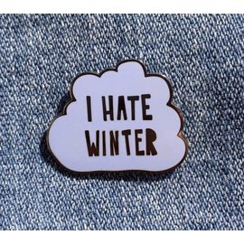 Near Modern Disaster I Hate Winter Enamel Pin