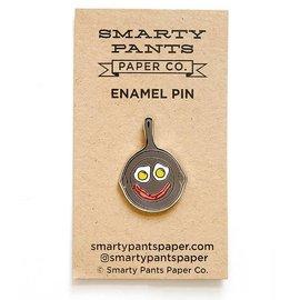 Smarty Pants Paper Eggcellent Enamel Pin