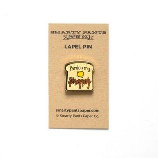 Smarty Pants Paper Pardon My French Enamel Pin
