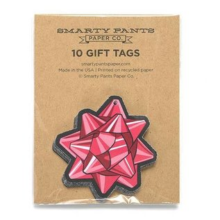 Smarty Pants Paper Gift Tags - Bow