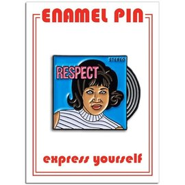 The Found Aretha Enamel Pin