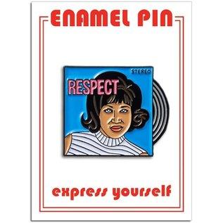 The Found Aretha Enamel Pin