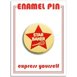 The Found Star Baker Enamel Pin