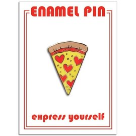 The Found Pizza Slice Enamel Pin