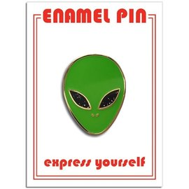 The Found Alien Enamel Pin