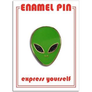 The Found Alien Enamel Pin