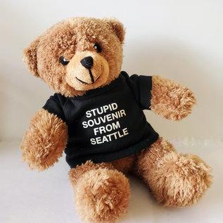 Smitten Kitten Stupid Seattle Teddy Bear