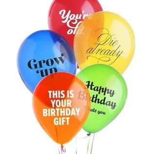 Boldfaced Goods Jerk Birthday Balloons