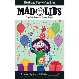 Penguin Group Birthday Party Mad Libs