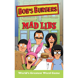 Penguin Group Bob's Burgers Mad Libs