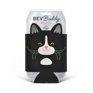 Fred Cat Bev Buddy Koozie