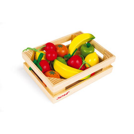 Janod Toys 12 Fruit Crate