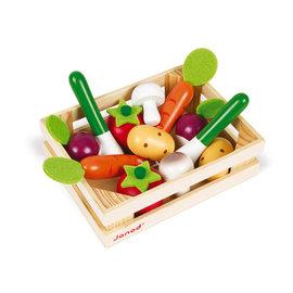 Janod Toys 12 Veggie Crate