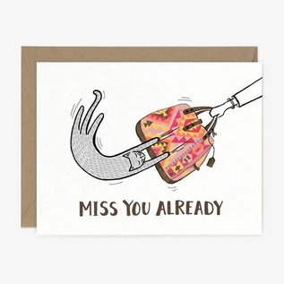 Paper Pony Co. Greeting Card - Miss You Already