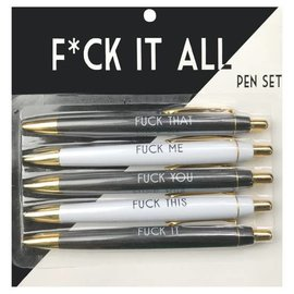 Fun Club Fuck It All Pens