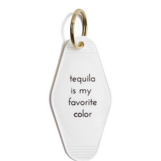 He Said, She Said Tequila is My Favorite Color Key Tag