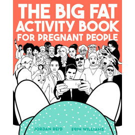 Penguin Group Big Fat Activity Book For Pregnant People