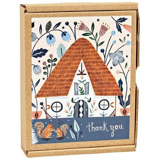 TeNeues Cozy Cabin Thank You Notes