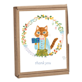 TeNeues Cat Kawaii Thank You Notes