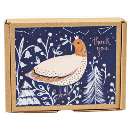 TeNeues Winter Bird Boxed Notes