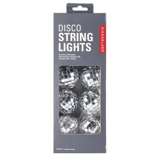 Kikkerland Design Inc Disco String Lights