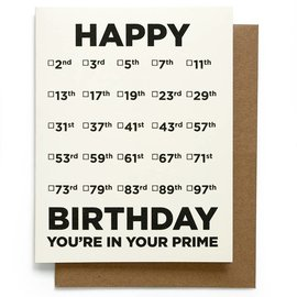 Smarty Pants Paper Birthday Card - Prime