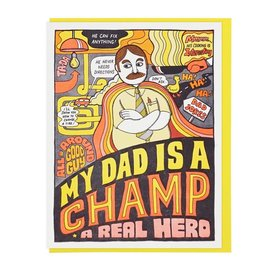 Lucky Horse Press Father's Day - Dad Is A Champ