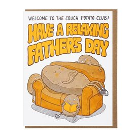 Lucky Horse Press Father's Day -  Couch Potato