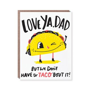Hello Lucky / Egg Press Father's Day - Taco Dad