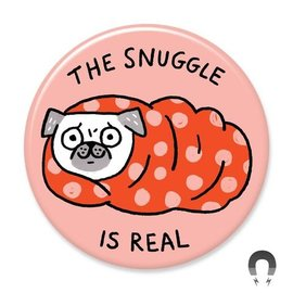 Badge Bomb Snuggle Is Real Magnet