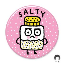 Badge Bomb Salty Magnet