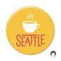 Badge Bomb Seattle Mug Magnet