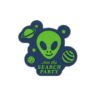 Seltzer Search Party Retro Rubber Magnet