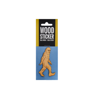 20 Leagues Sasquatch Wood Sticker