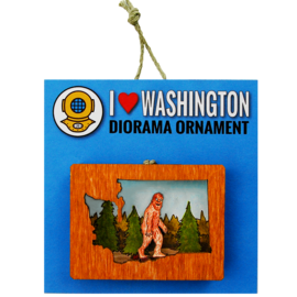 20 Leagues Sasquatch Ornament