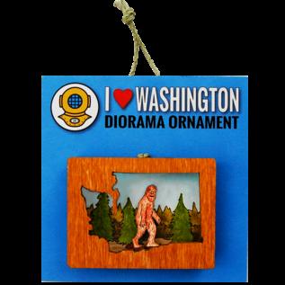 20 Leagues Sasquatch Ornament