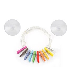 Kikkerland Design Inc Clothespin String Lights