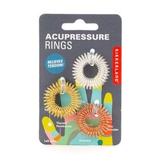 Kikkerland Design Inc Acupressure Massage Rings