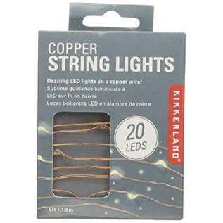 Kikkerland Design Inc Copper String Lights