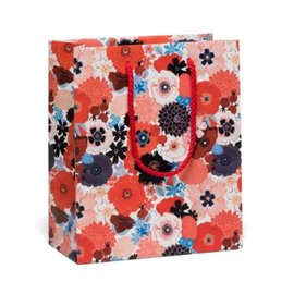 Red Cap Cards Poppies Gift Bag
