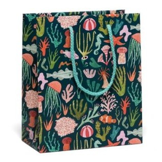 Red Cap Cards Ocean Life Gift Bag