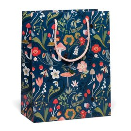 Red Cap Cards Forest Blue Gift Bag