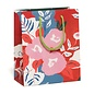 Red Cap Cards Ruby Red Flower Gift Bag