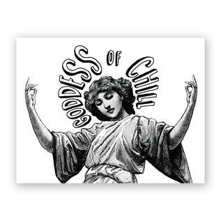 Mincing Mockingbird Greeting Card - Goddess Of Chill