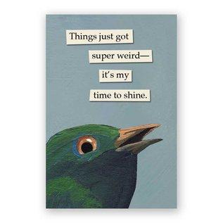 Mincing Mockingbird Super Weird Magnet