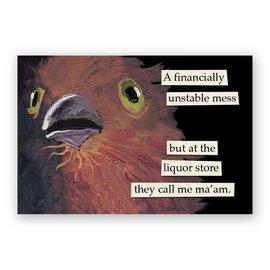 Mincing Mockingbird Liquor Store Magnet