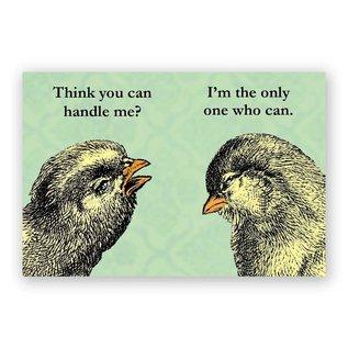 Mincing Mockingbird Handle Me Magnet