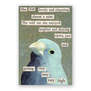 Mincing Mockingbird Very, Very High Magnet
