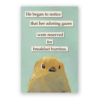 Mincing Mockingbird Burrito Magnet